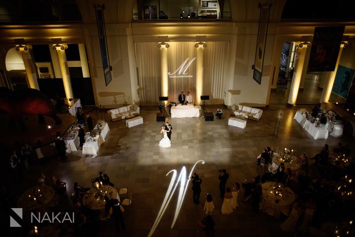 field museum wedding reception photos