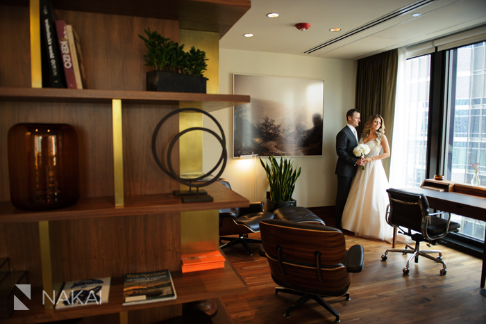 chicago langham hotel wedding photographer photos