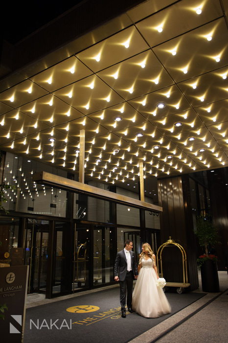 chicago langham hotel wedding pictures