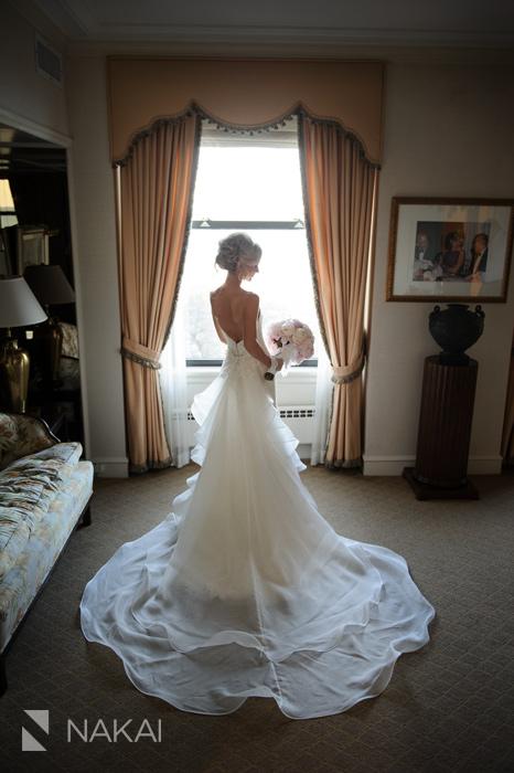 bridal wedding photo chicago luxury photographer drake hotel
