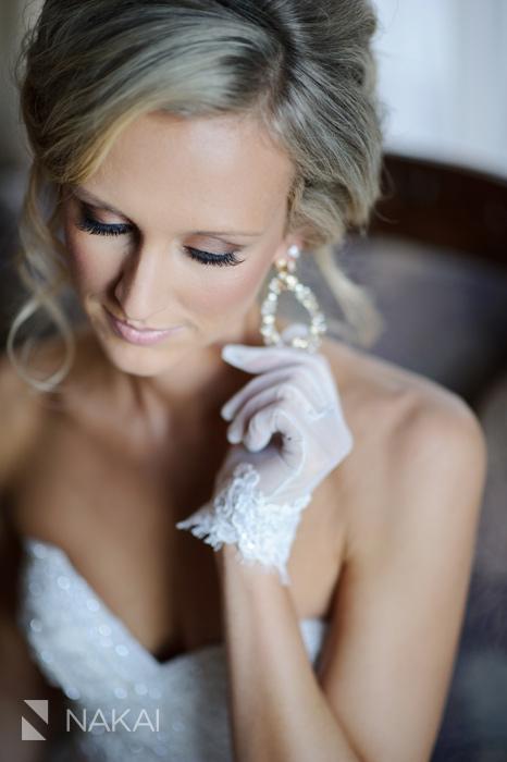 chicago luxury wedding photographer bride getting ready drake hotel