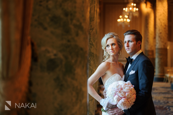 chicago luxury wedding photographer drake hotel photo