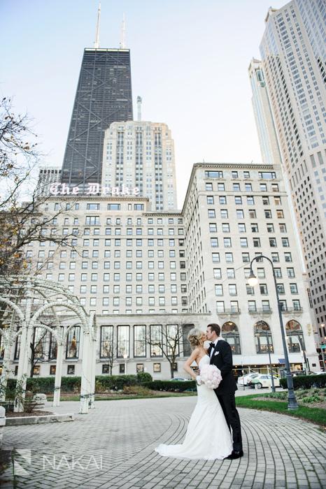 drake hotel wedding picture