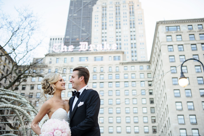 drake hotel wedding photo