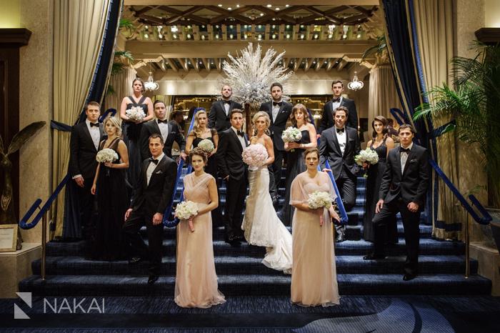 chicago luxury wedding photographer drake hotel photo