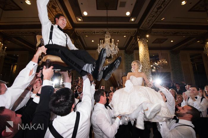 chicago luxury wedding photographer drake hotel picture