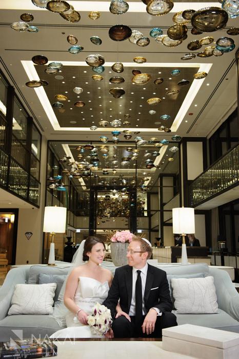 langham chicago wedding photos