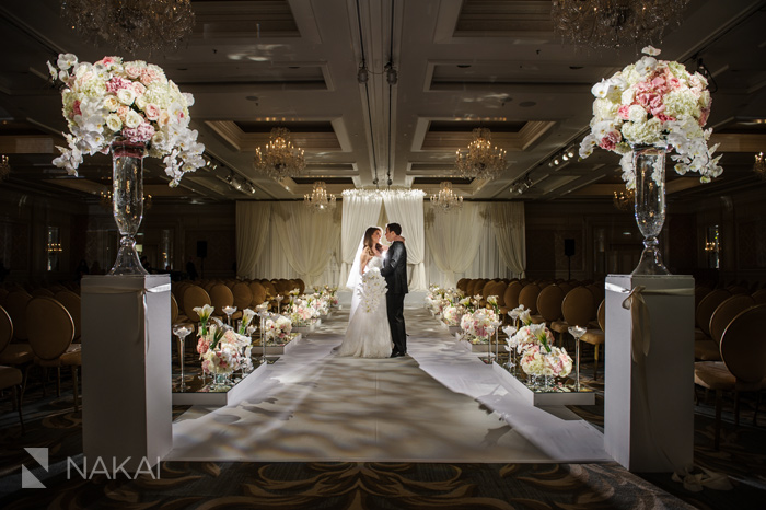 chicago luxury wedding photographer four seasons