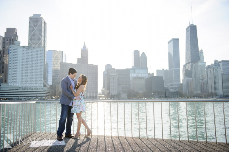 chicago olive park engagement photographer
