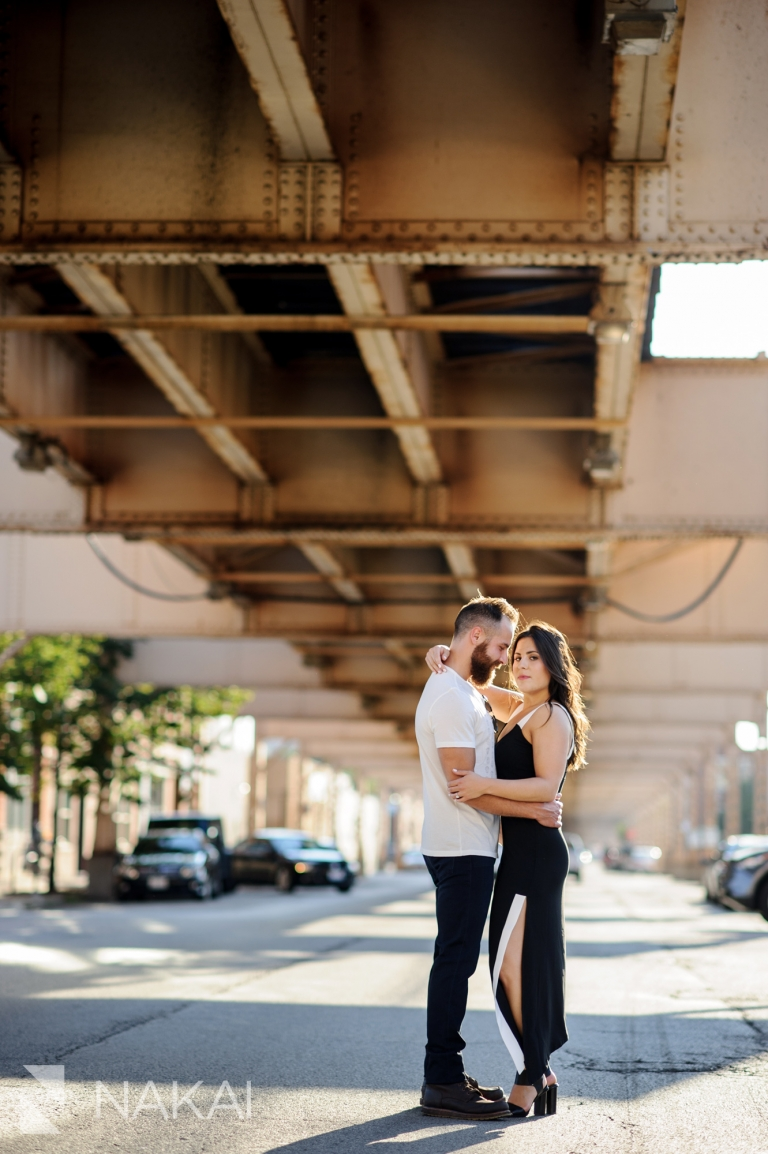 west loop chicago engagement photographer