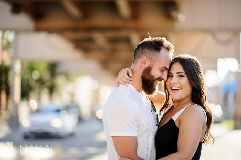 west loop chicago engagement photos