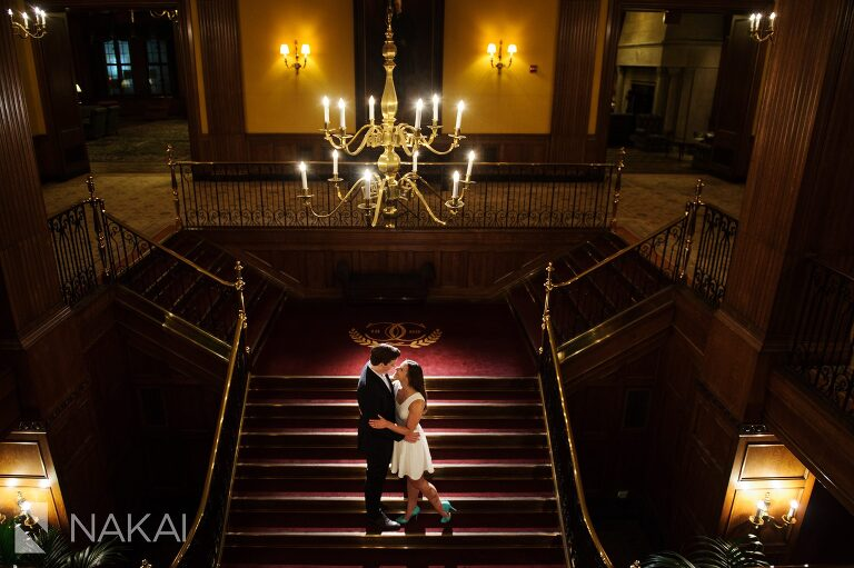 best chicago club engagement pictures