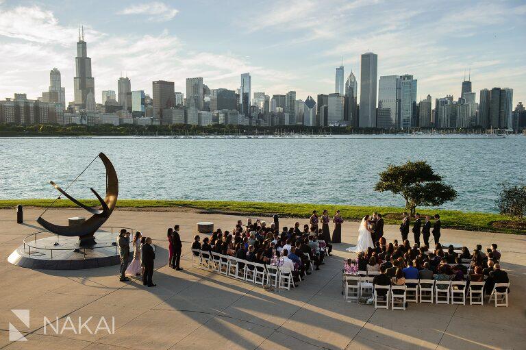 adler planetarium wedding photos photographer ceremony