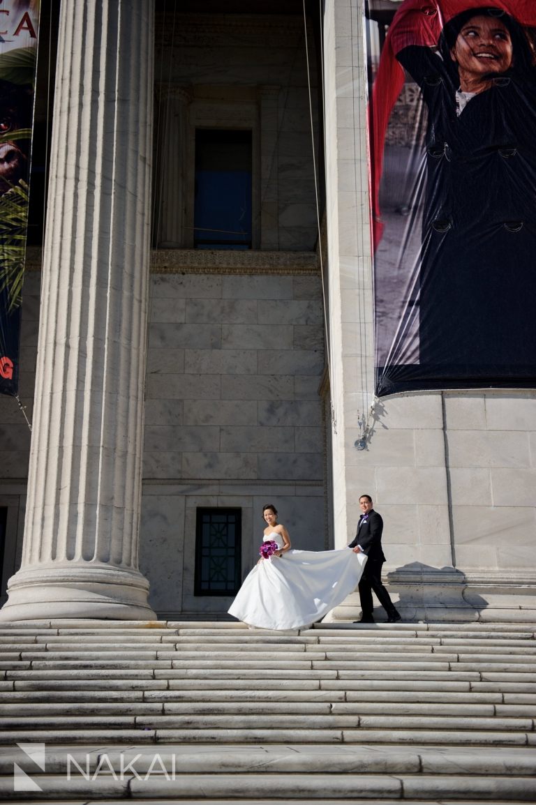field museum wedding picture