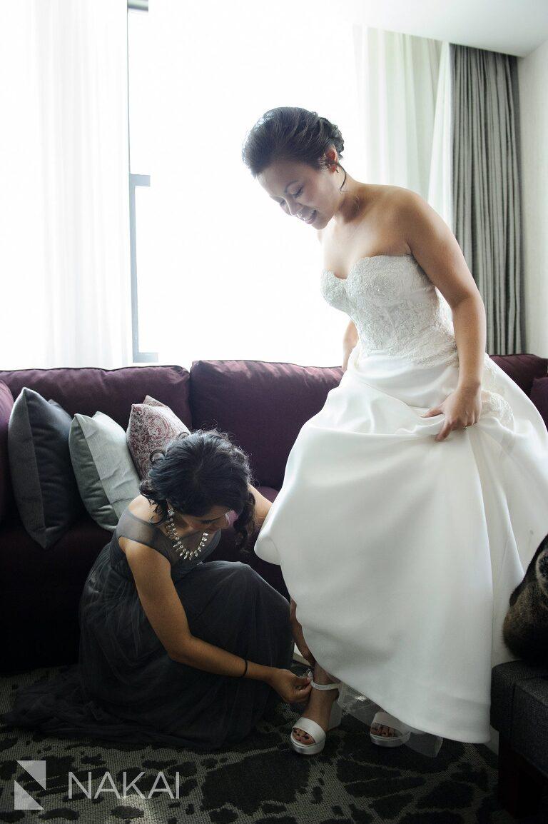 londonhouse getting ready wedding photo