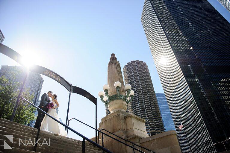 chicago wedding picture