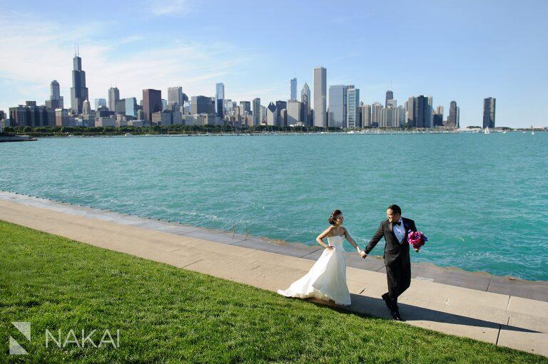 adler planetarium wedding photos photographer nakai photography