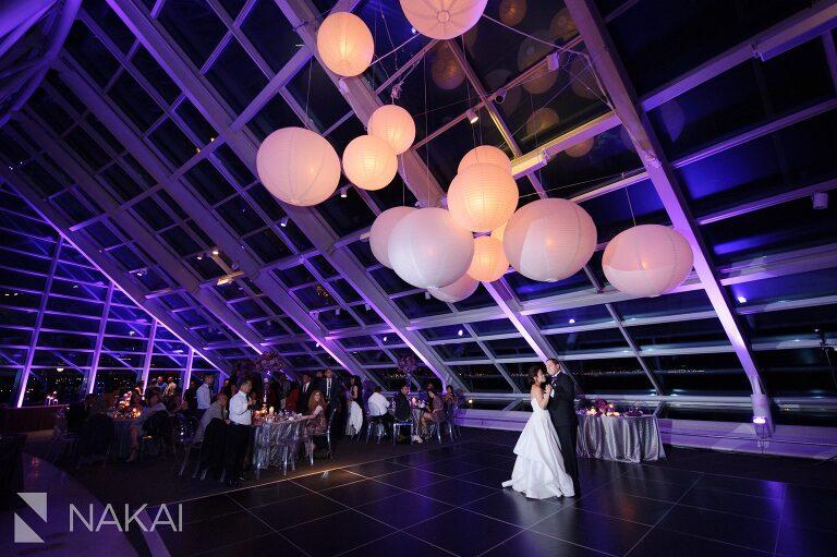 adler planetarium wedding reception photo revel decor