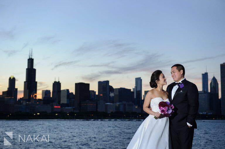 adler planetarium chicago wedding photos