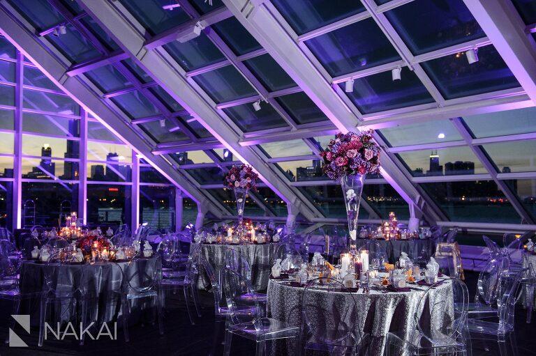 adler planetarium wedding reception pictures revel decor