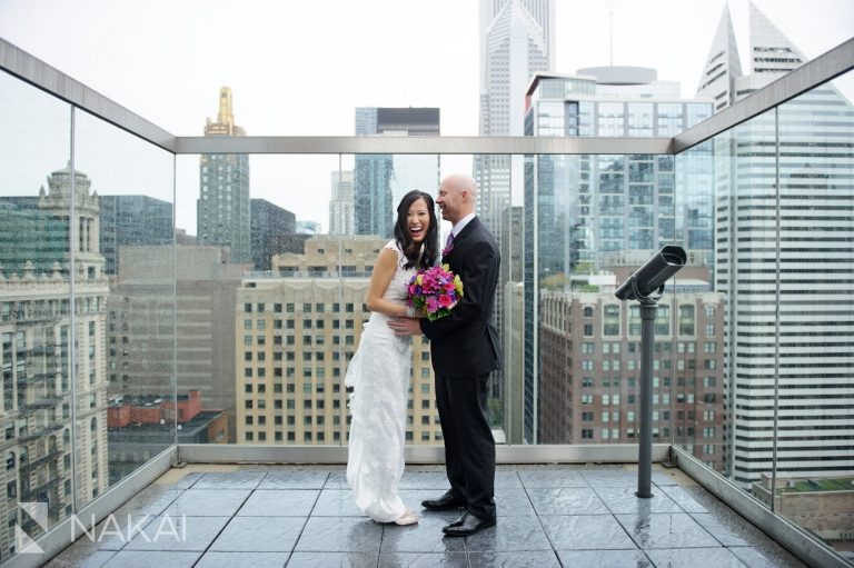 The Wit Wedding Photographer Hotel Chicago Roof Rooftop