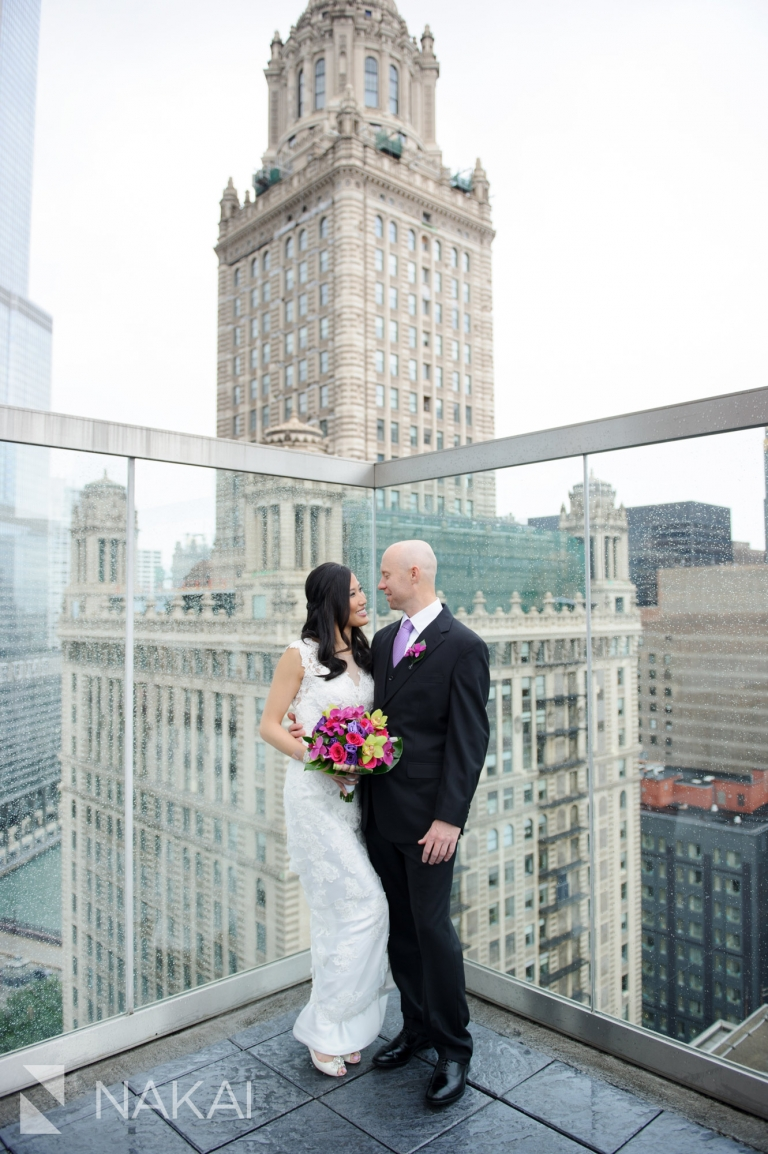 thewit wedding picture roof rooftop