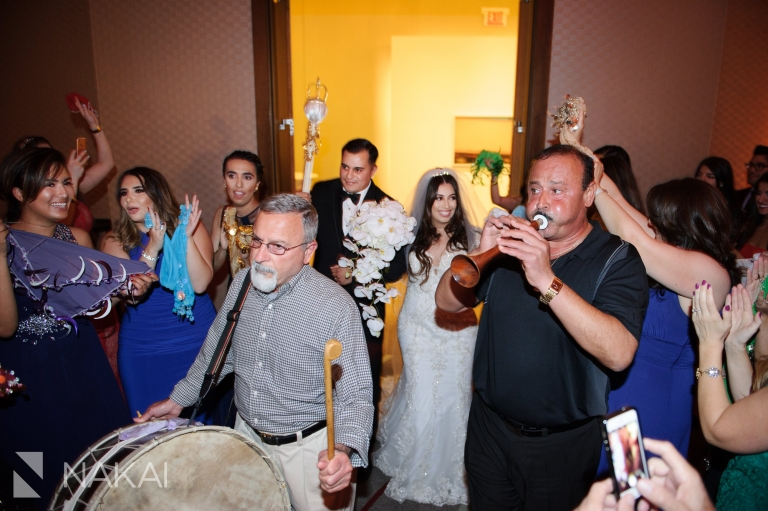 loews ohare wedding photo assyrian bride chicago
