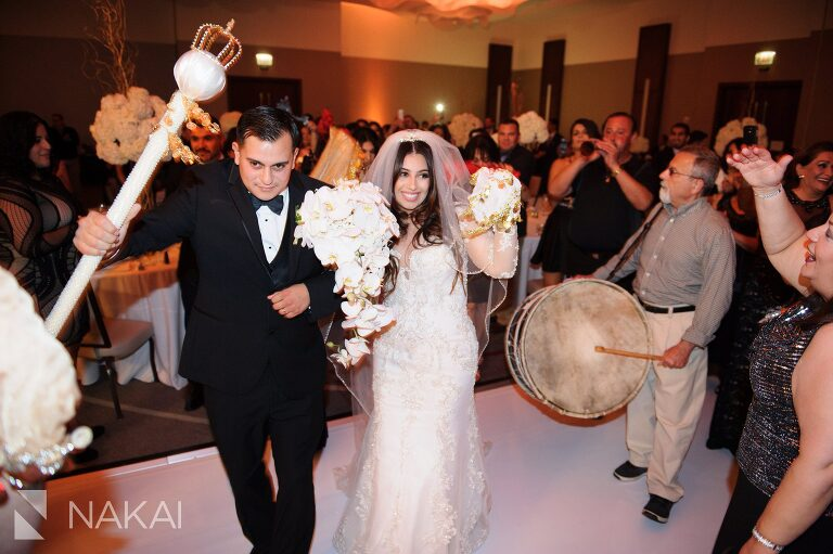 loews ohare wedding photographer assyrian bride chicago