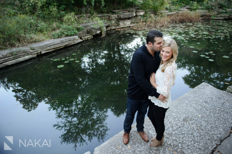 lily pond top chicago engagement photo location