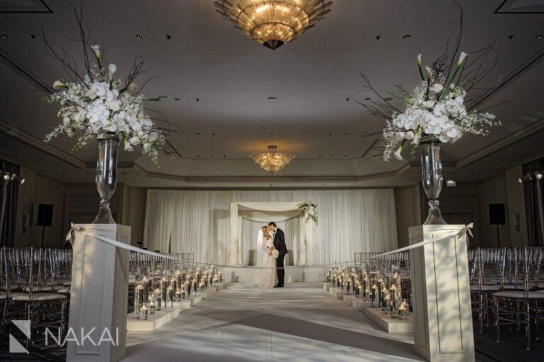 best Fairmont Chicago wedding photographer flower firm
