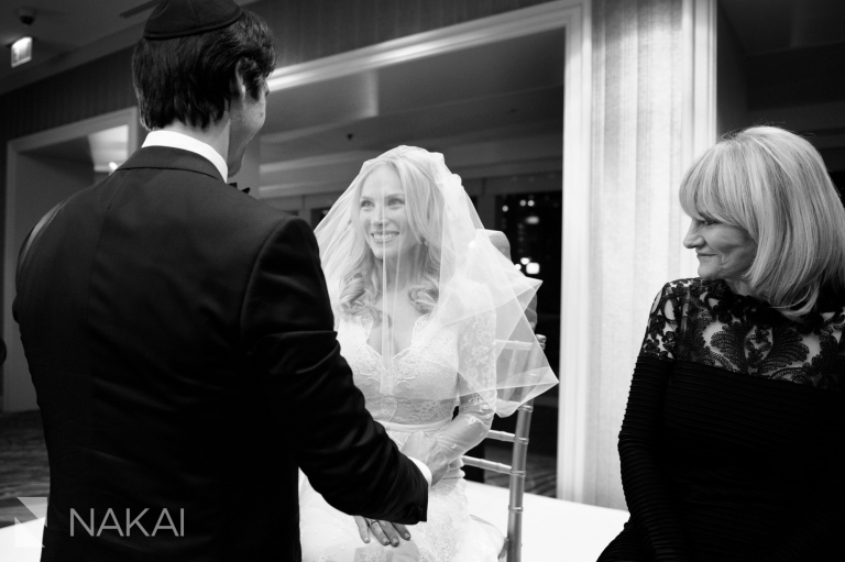 jewish wedding tish bedeken chicago photo