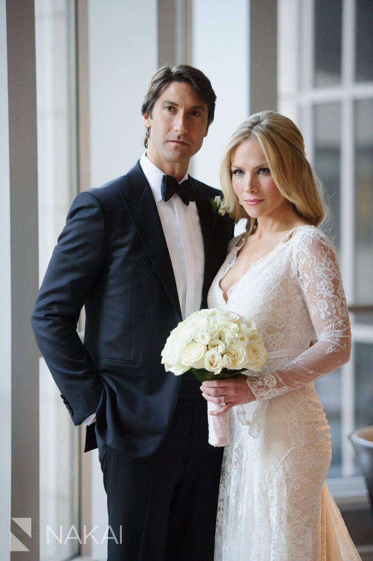 fairmont chicago luxury wedding photo bride groom