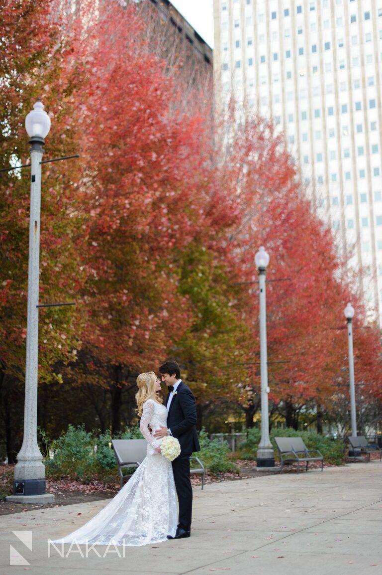 best millennium park wedding photo