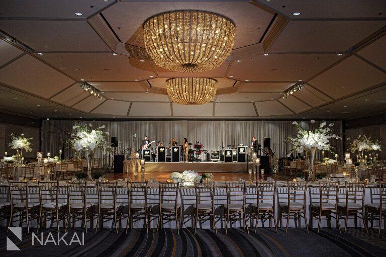 best Fairmont Chicago wedding photographer reception