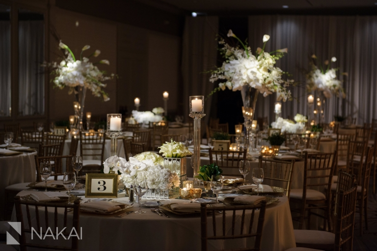 Fairmont Chicago luxury wedding photo reception