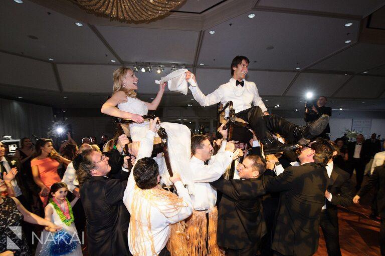 jewish wedding dance hora chicago photo fairmont