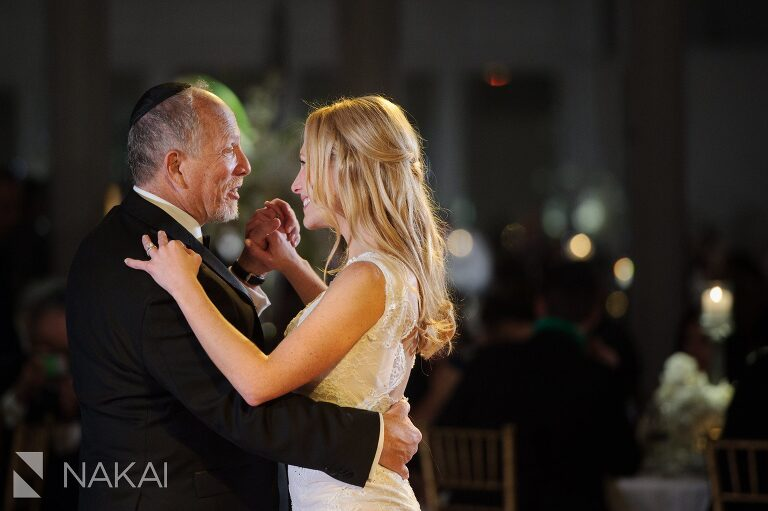 father daughter dance fairmont chicago wedding reception picture