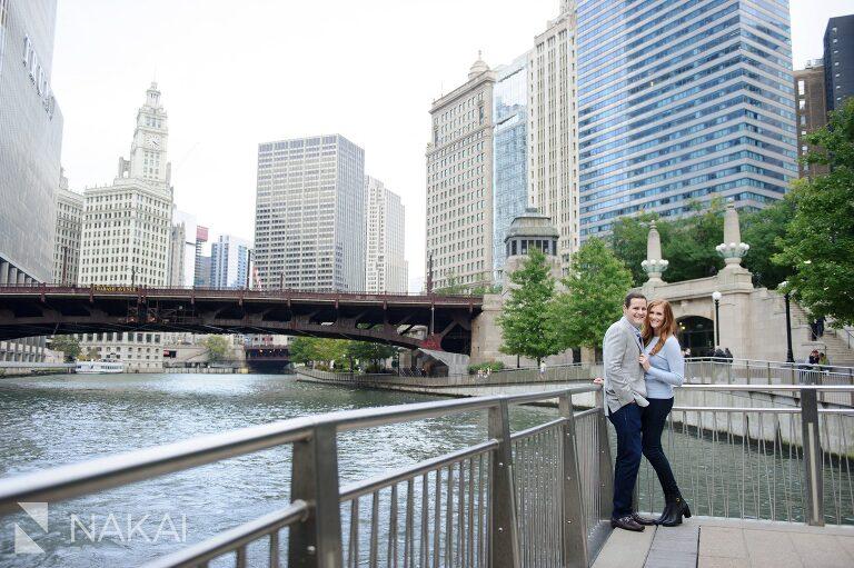 best engagement location chicago riverwalk picture
