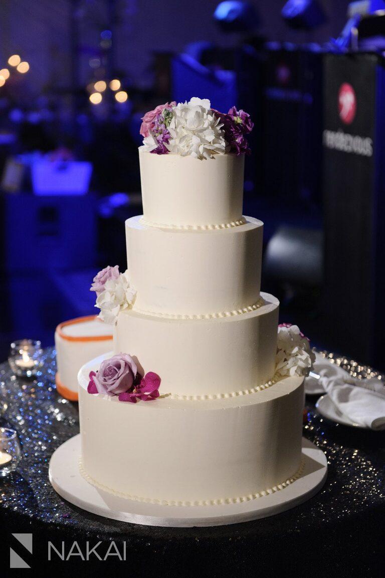 chicago aqua blu wedding photographer cake