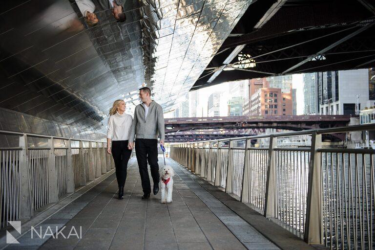 riverwalk engagement photographer chicago