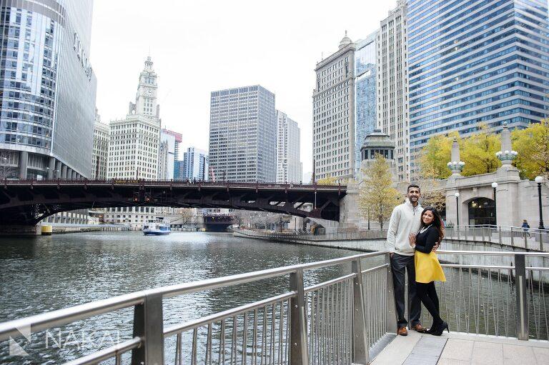 winter chicago engagement photographer