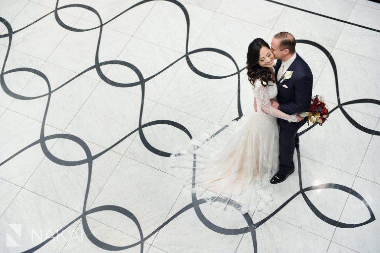 waldorf chicago wedding photographer astoria bride groom