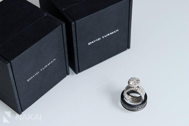waldorf astoria chicago wedding photo david yurman rings