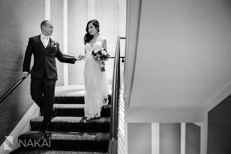 chicago waldorf wedding photographer bride groom