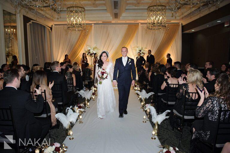 chicago waldorf astoria wedding ceremony photo
