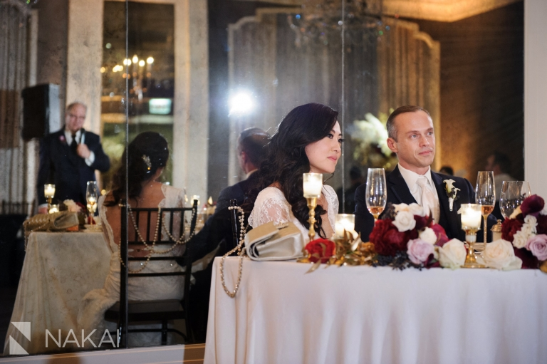 chicago waldorf wedding reception photo