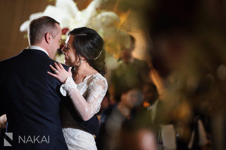 chicago waldorf wedding reception picture