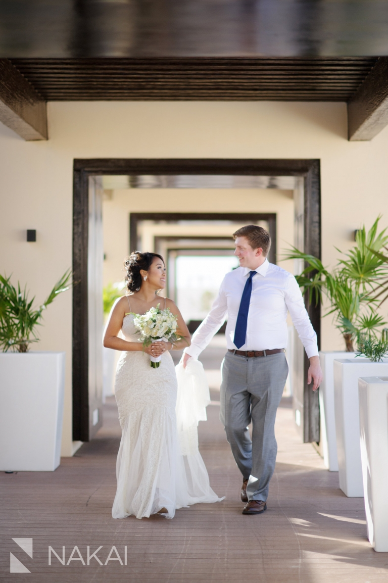 royalton riviera wedding photo bride groom sky terrace