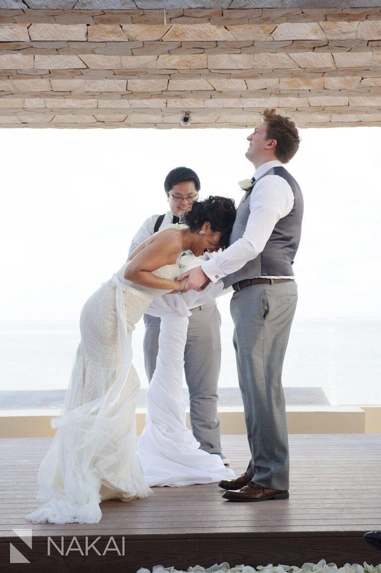royalton riviera wedding ceremony image sky terrace