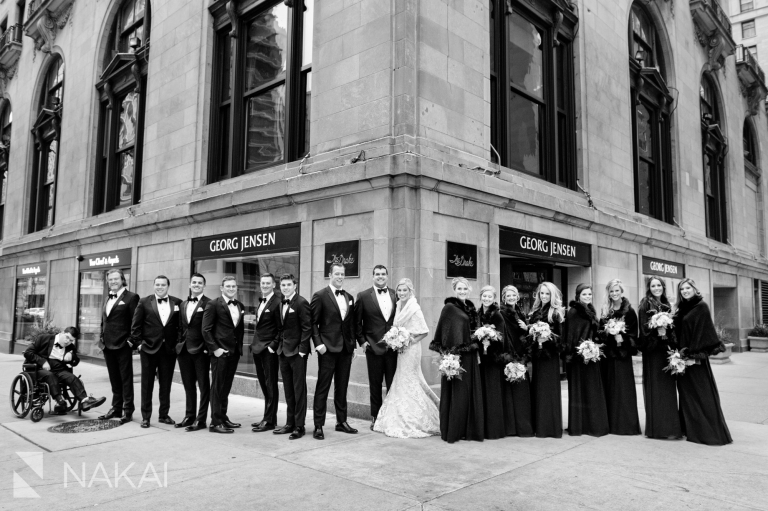 drake chicago wedding pictures